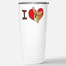 I heart chihuahuas Travel Mug