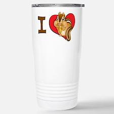 I heart chipmunks Travel Mug