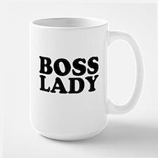 BOSS LADY Large Mug