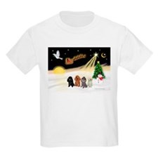 Night Flight/4 Poodles T-Shirt