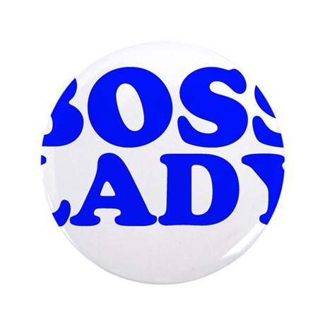 """BOSS LADY 3.5"""" Button (100 pack)"""