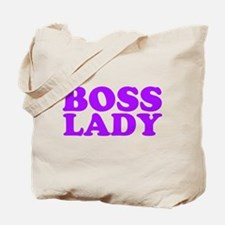 BOSS LADY PURPLE Tote Bag
