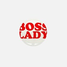 BOSS LADY RED Mini Button (10 pack)