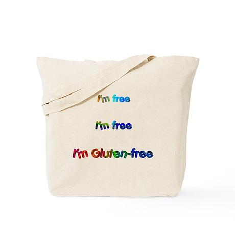 I'm Free I'm Free I'm Gluten-Freetote Bag