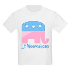 Lil Weepublican Pink T-Shirt