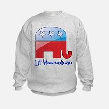 Lil Weepublican Red/Blue Sweatshirt