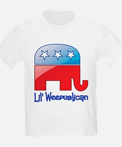 Lil Weepublican Red/Blue T-Shirt