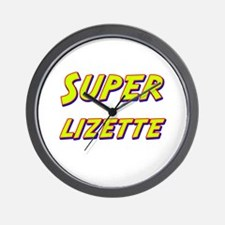 Super lizette Wall Clock
