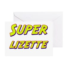 Super lizette Greeting Card