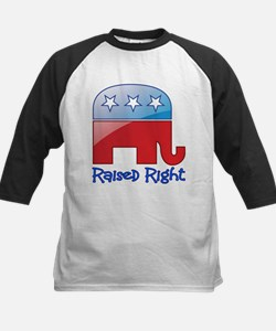 Raised Right Red/Blue Tee