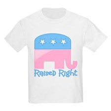 Raised Right Pink/Blue T-Shirt