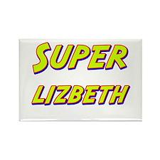 Super lizbeth Rectangle Magnet