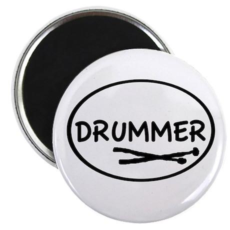 Drummer (oval) Magnet