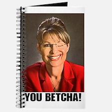 You Betcha Sarah Palin Journal