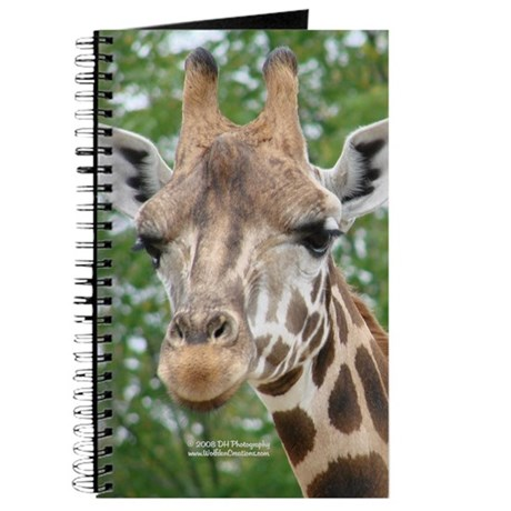 Giraffe Head Journal
