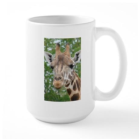 Giraffe Head Large Mug