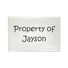 Unique Jayson Rectangle Magnet