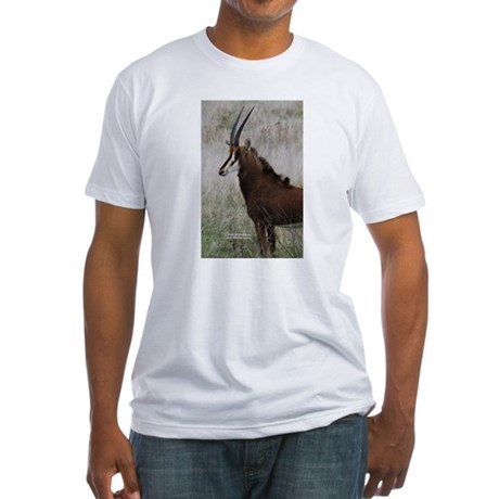 Sable Antelope 2 Fitted T-Shirt