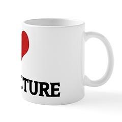 I Love Architecture Mug