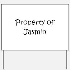 Cool Jasmin Yard Sign