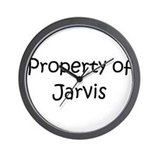 Cool Jarvis Wall Clock