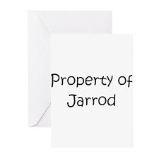 Unique Jarrod's Greeting Cards (Pk of 10)