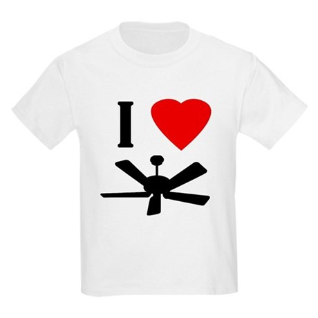 I Love Fans Kids Light T-Shirt