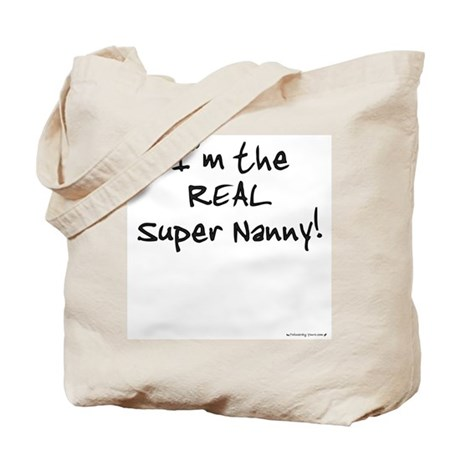 I'm the Super Nanny - Twins Tote Bag