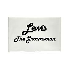 Lewis - The Groomsman Rectangle Magnet