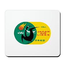 Japan Air Lines Mousepad