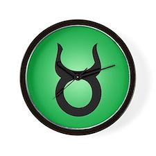 Symbol - Taurus Wall Clock