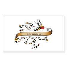 Zoology Scroll Rectangle Sticker 10 pk)