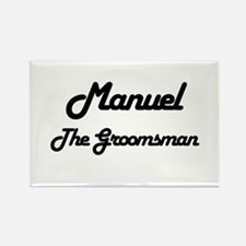 Manuel - The Groomsman Rectangle Magnet