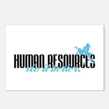 Human Resources Do It Better! Postcards (Package o