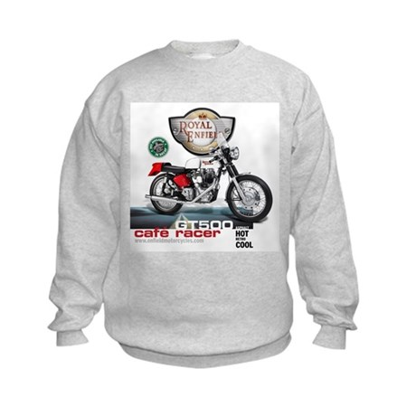 Style With Stamina Cafe Racer Kids Sweatshirt
