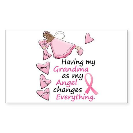 My Angel 1 (Grandma BC) Rectangle Sticker