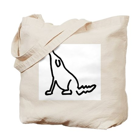 the hounds tote bag