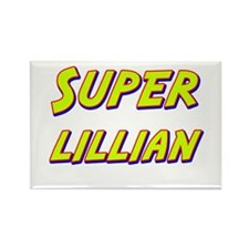Super lillian Rectangle Magnet