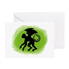Flying Monkey Greeting Cards (Pk of 10)