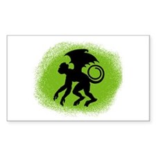 Flying Monkey Rectangle Decal