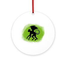 Flying Monkey Ornament (Round)