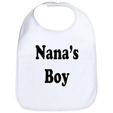 Nana's Boy Bib