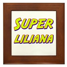 Super liliana Framed Tile