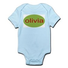 olivia personalized Infant Creeper