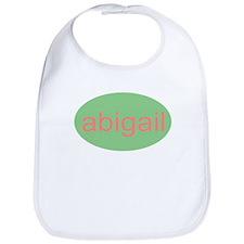 abigail personalized name infant baby Bib