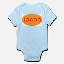 jacob personalized name onesie infant creeper