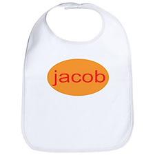 jacob personalized infant toddler bib