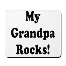 My Grandpa Rocks! Mousepad