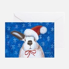 Santa Rabbit Greeting Cards (Pk of 10)