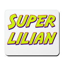 Super lilian Mousepad